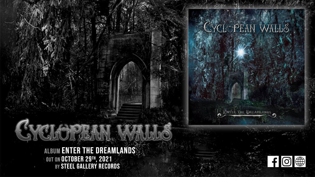 CYCLOPEAN WALLS: «The Doom That Came To Sarnath» από το επερχόμενο άλμπουμ «Enter The Dreamlands».